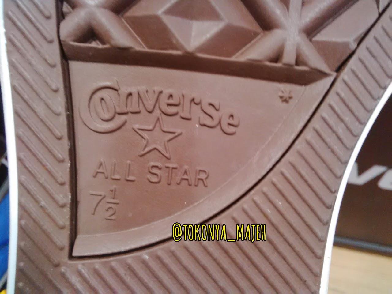 Ciri Sepatu Converse Original Made In Indonesia