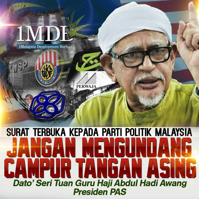 SURAT TERBUKA KEPADA PARTI POLITIK MALAYSIA