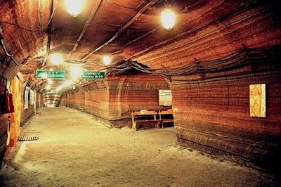 Спелеотерапия: подземные лечебницы  в соляных, сильвинитовых и карстовых пещерах, радоновых штольнях. Белорусская республиканская аллергологическая больница в Солигорске