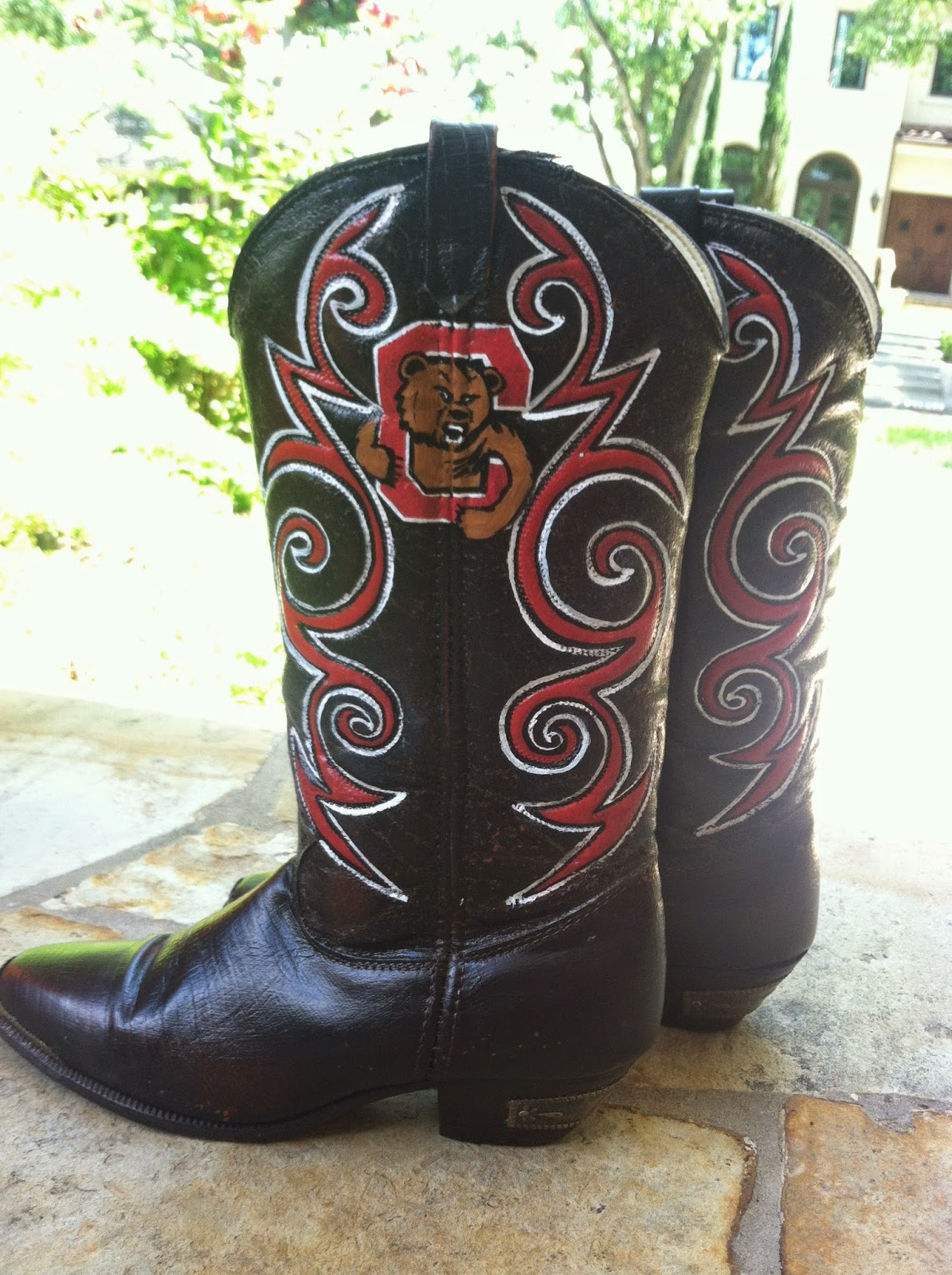 These Boots Were Made For Strutting: B.krafty: These Boots Were Made For Tailgating