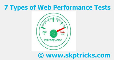 7 Types of Web Performance Tests