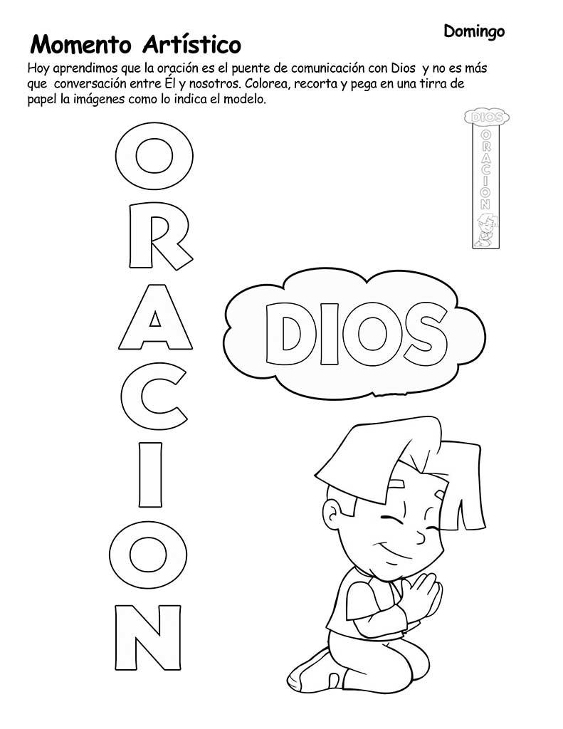 EBI Chile: Actividades tema Oración.