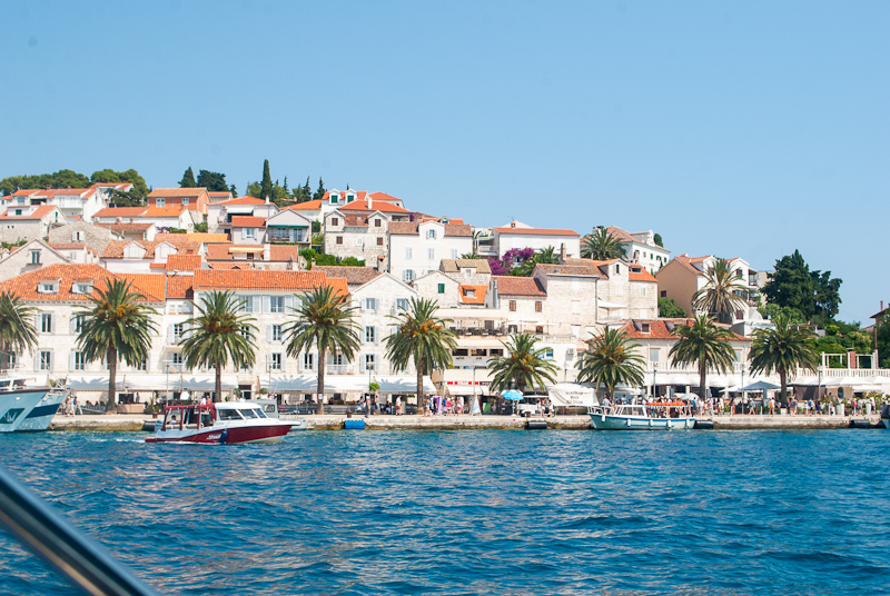 town of Hvar in croatia