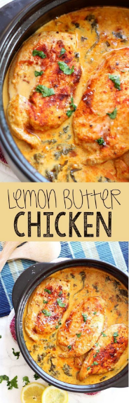 Lemon Butter Chícken