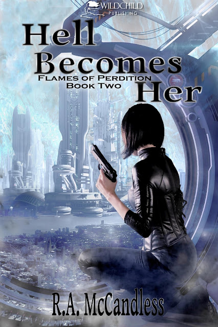 Have you seen the new cover for Hell Becomes Her?