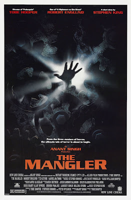 The mangler, 1995, Stephen King Tobe Hooper, Robert Englund