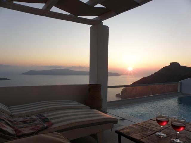 Sunset Suite, Agali Houses Santorin, Griechenland