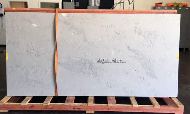 Caesarstone Noble Grey Quartz That Looks Like Marble