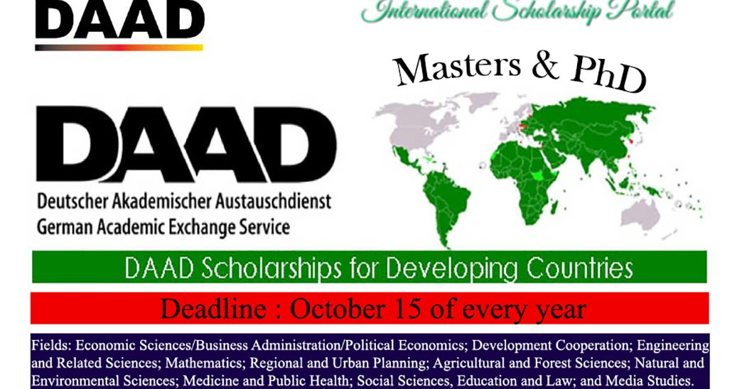 Master thesis scholarship germany