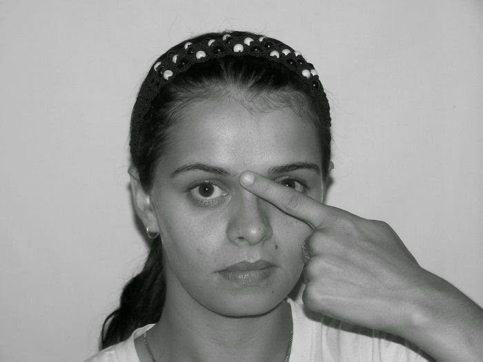 Facial Exercises To Get Rid Of Lateral Worry Wrinkles On The