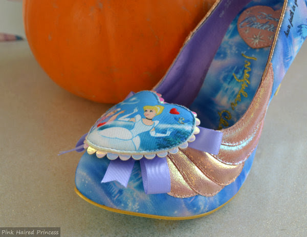irregular choice faith in dreams shoe toe detail