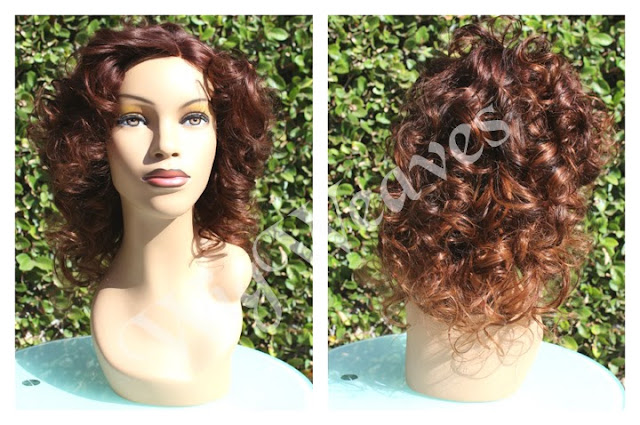 New Custom Side Part Lace Closure Wig