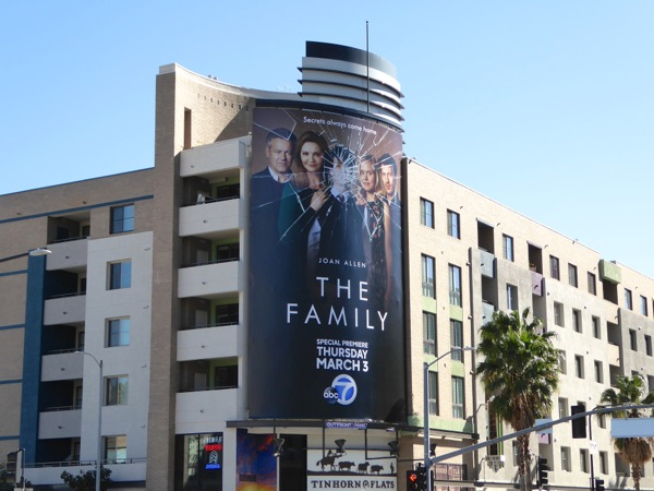 The Family TV series billboard