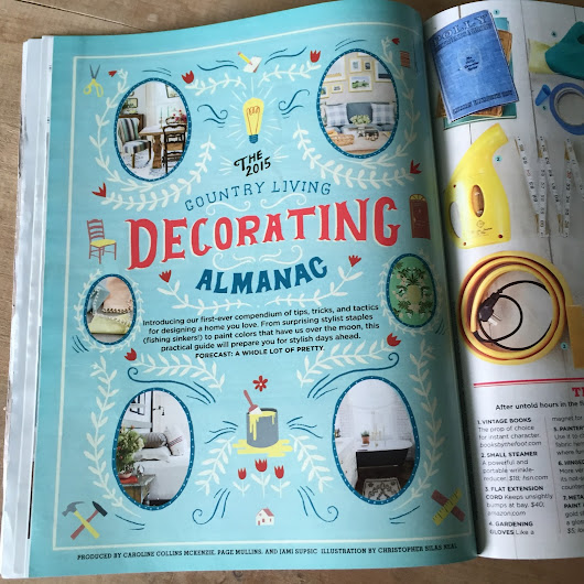 City Farmhouse: The Decorating Almanac {Country Living September '15}