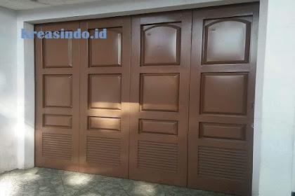 Pintu Garasi Lipat atau Dorong Tikung siap menerima pesanan seluruh Jakarta