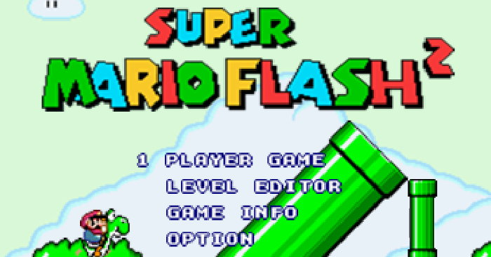 Play Super Mario Flash World 2
