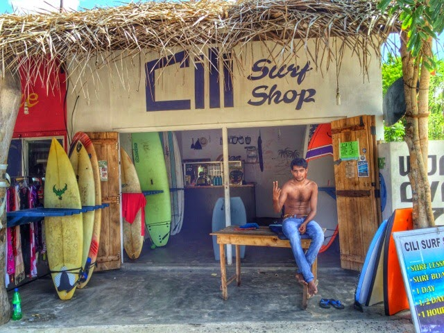 Cili Surf Shop in Arugam Bay
