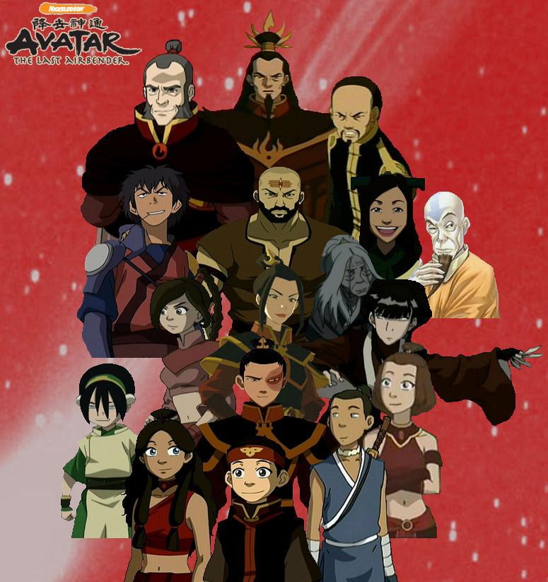 The Last Airbender Team Avatar: Anime: Avatar: The Last Airbender