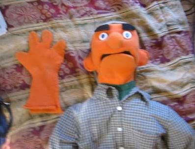 como hacer muppets