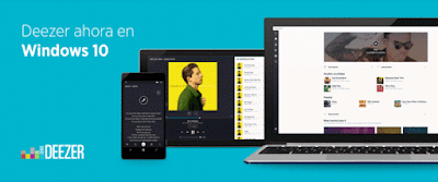 Deezer para Windows 10