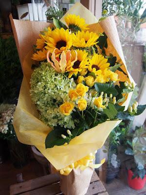 姉に贈った花束