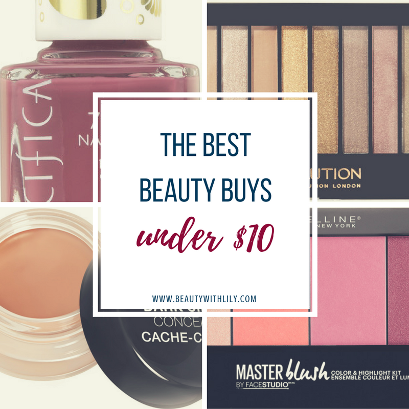 Best Beauty Finds UNDER $10 // Affordable Makeup Products // Cheap & GOOD Makeup | beautywithlily.com
