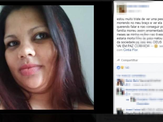 Mulher é morta com tiro na cabeça enquanto amamentava filho no Ceará