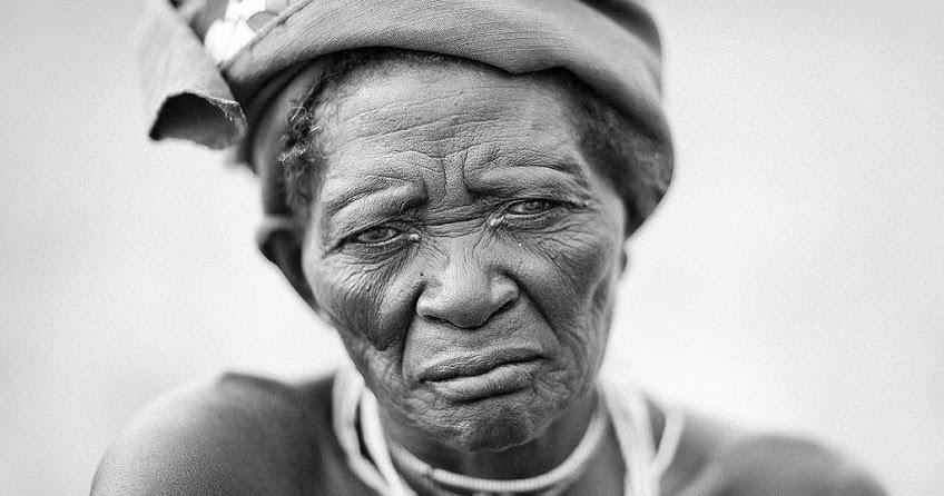 African Old Granny Porn
