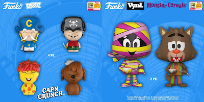 San Diego Comic-Con 2018 Exclusive Ad Icons POP!, Dorbz & Vynl Vinyl Figures by Funko – Cap'n Crunch & General Mills Cereal Monsters
