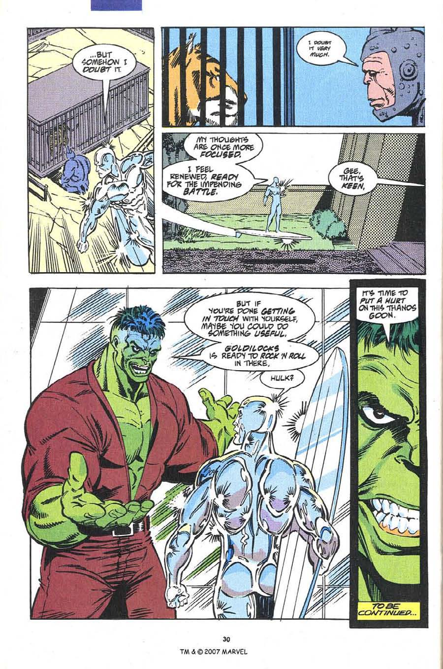 Read online Silver Surfer (1987) comic -  Issue #54 - 32