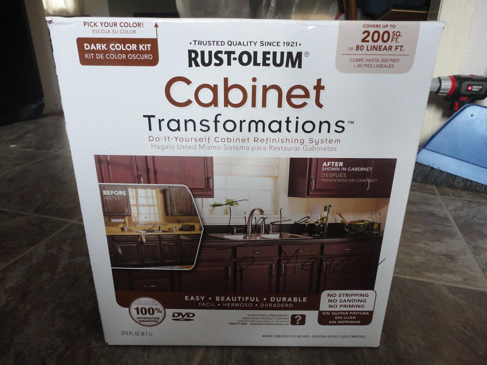 Craftsman 1204 rustoleum cabinet transformations kitchen reno