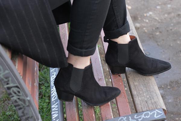 clémence m blog mode manteau trench & coat boots h&m