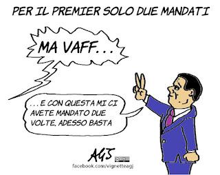 Renzi, premier, presidente del consiglio, due mandati, riforme, vignetta, satira
