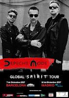 Conciertos de Depeche Mode en España 2017