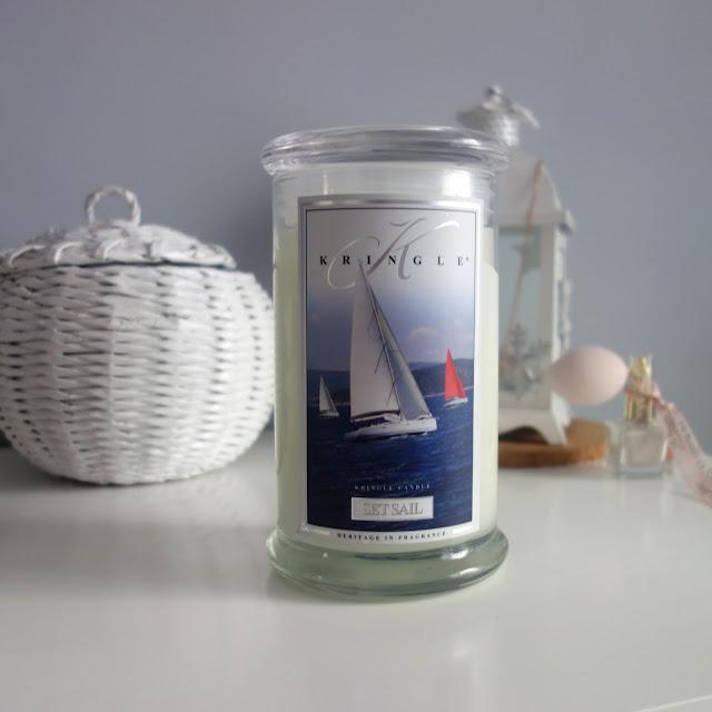 Kringle Candle Set Sail - zapach świeżości
