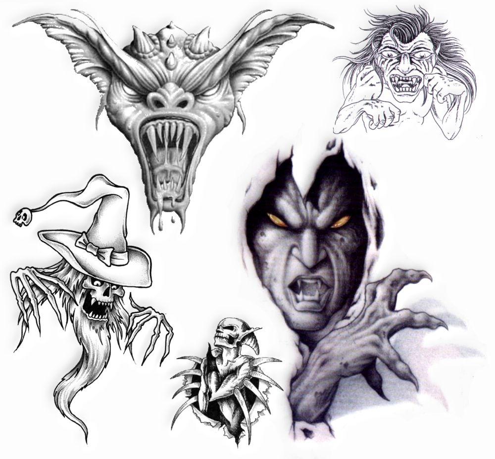 Tatuaż Wzory Tatuaży Tatuaże Demony