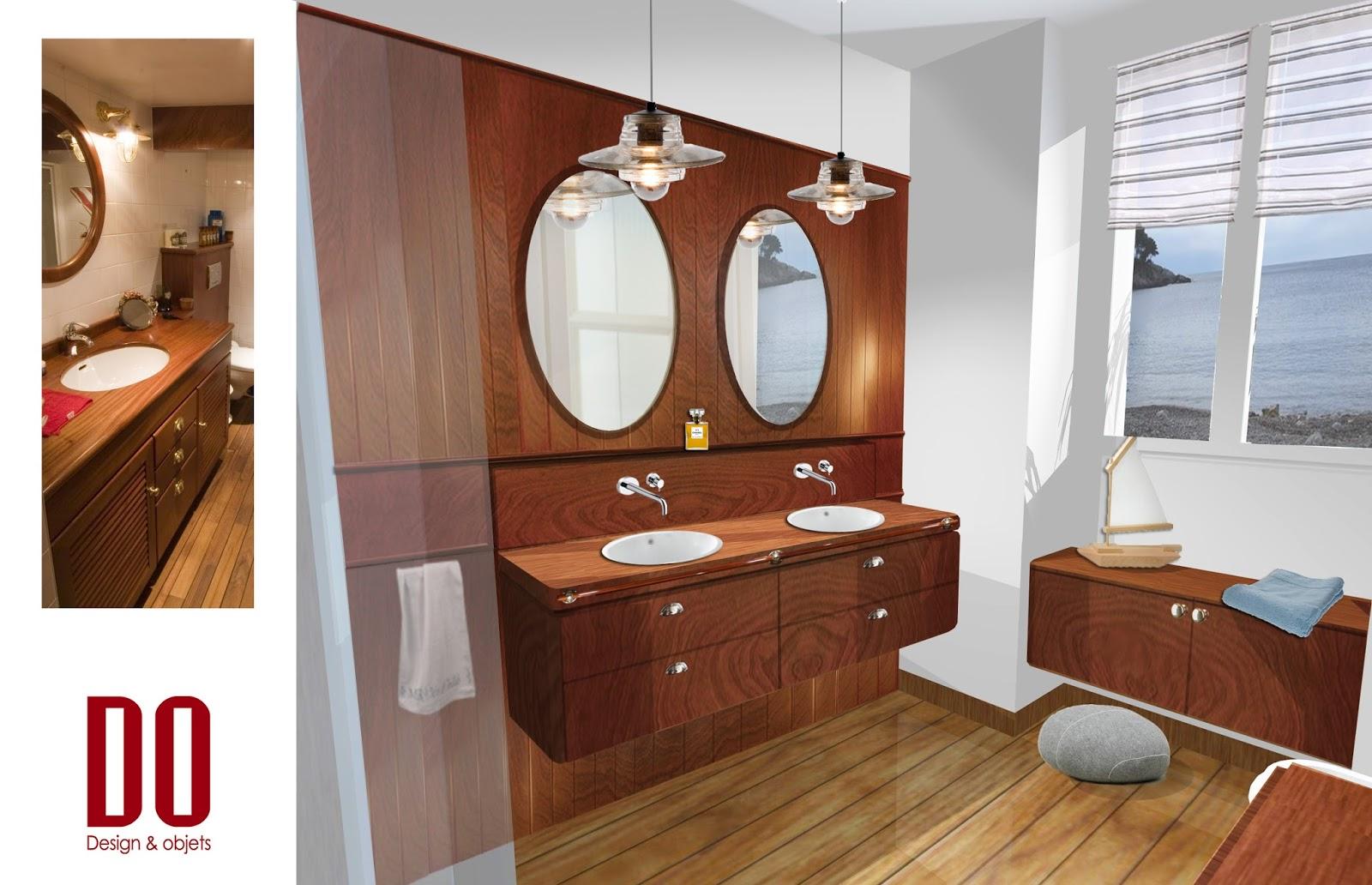 salle de bain tropicale maison design. Black Bedroom Furniture Sets. Home Design Ideas