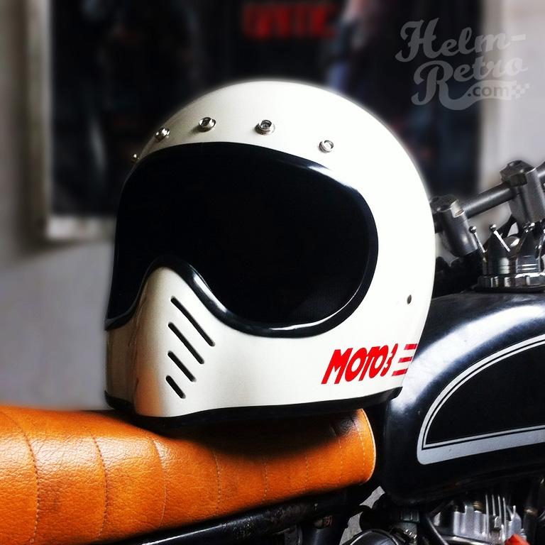 Helm Retro  Helm Retro Pilot  Helm Retro Bogo 2 Helm