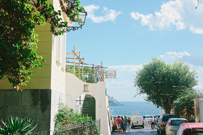 Positano Streets - 12 Days in Italy