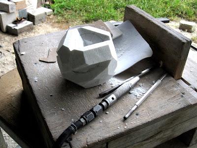 大理石の彫刻