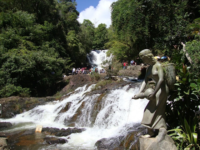 Datanla Waterfall, the typical falls in Dalat 1