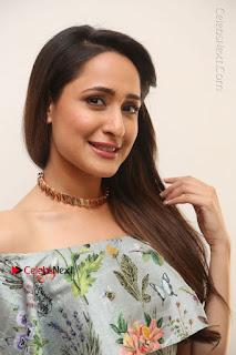 Actress Pragya Jaiswal Stills in Floral Dress at turodu Interview  0081.JPG