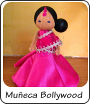Muñeca clothespin doll