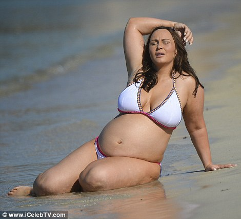 Screaming At Her Admitting To Staging Those Fat Pics On The Beach