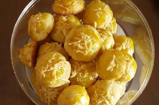 Resep kue kering nastar keju kacang