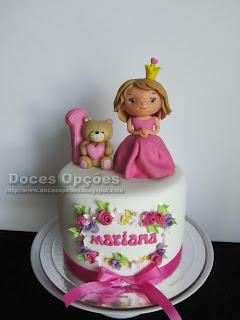 Bolo do 1º aniversário da Princesa Mariana