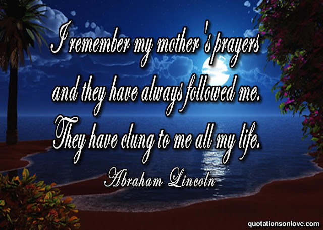 I Remember My Mother's Prayers