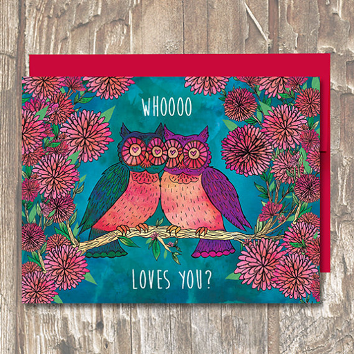 Whooo Loves You - Erin Clark - Inked in Red