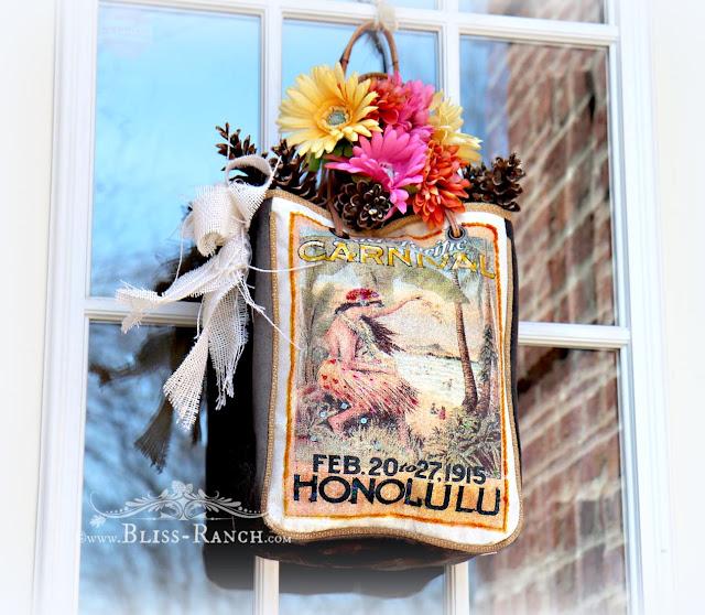 Spring Purse Wreath, Bliss-Ranch.com