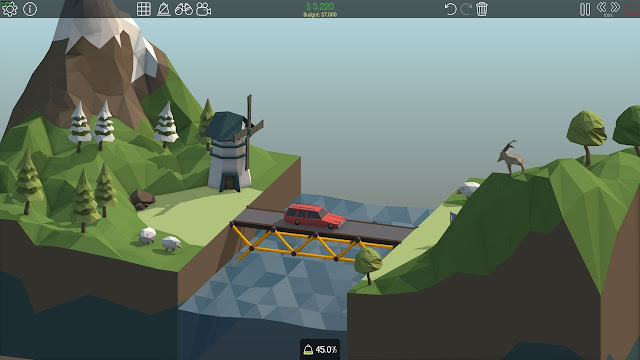 Poly Bridge Mod Mở Khóa Tất Cả cho Android